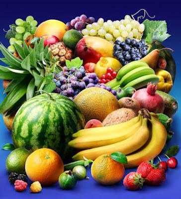 Colección de frutas tropicales en un solo lugar - Láminas