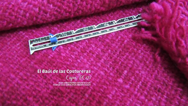 capa fácil de confeccionar con lana de oveja chilota