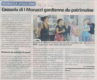Monacia au 18e sicle exposition