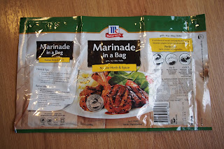 McCormick Marinade in a bag - Native herbs and spice