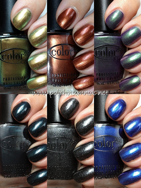 Color Club In True Fashion ♥ Part Two - The Metallics & Duochromes