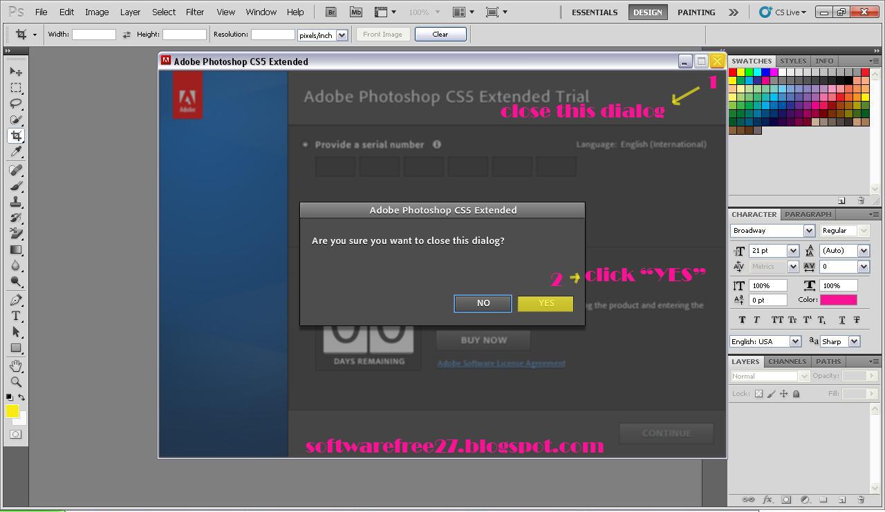 Как сделать на русский adobe photoshop cs6