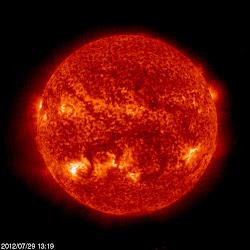 SOHO Solar Images