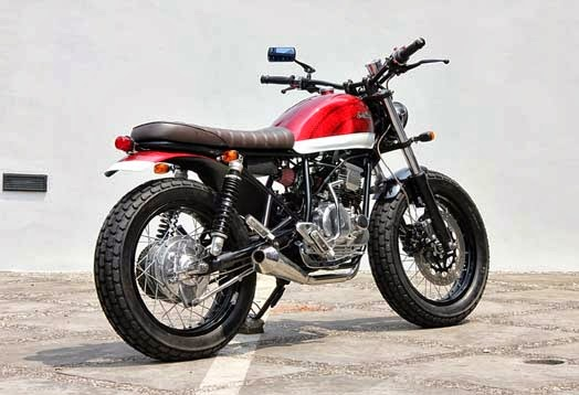 Modifikasi Yamaha Scorpio 225 THE SCORCRAMBLER