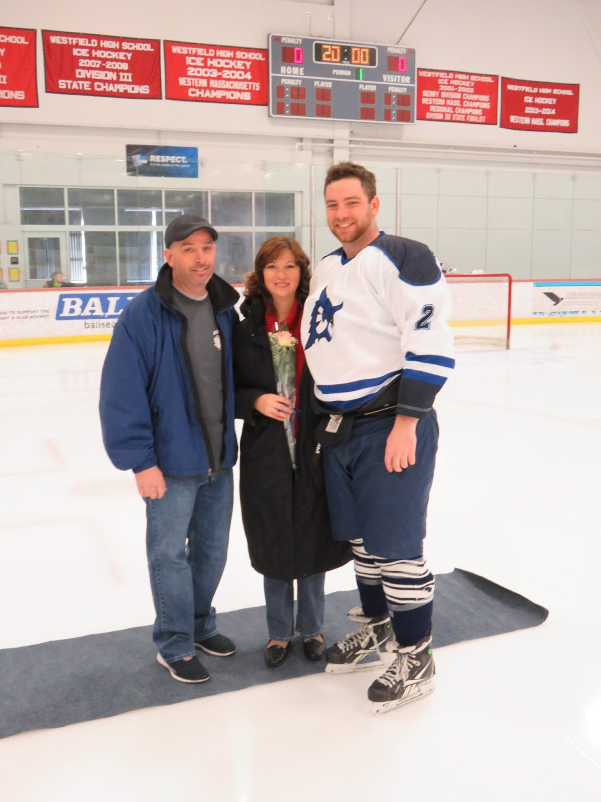 Westfield State Club Hockey Shu Stumps Westfield On