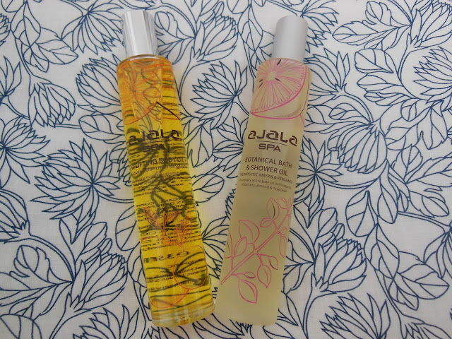Ajala spa bath and body oils