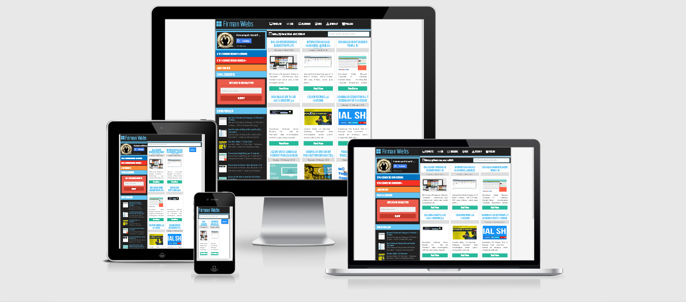 Mas Andes Responsive Blogger Template V.1
