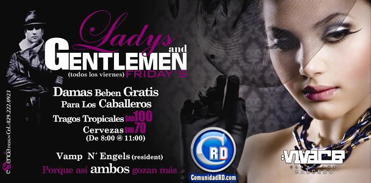Ladys N' Gentlemen  Fridays