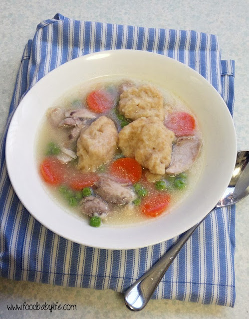 Chicken and Drop Dumplings © www.foodbabylife.com