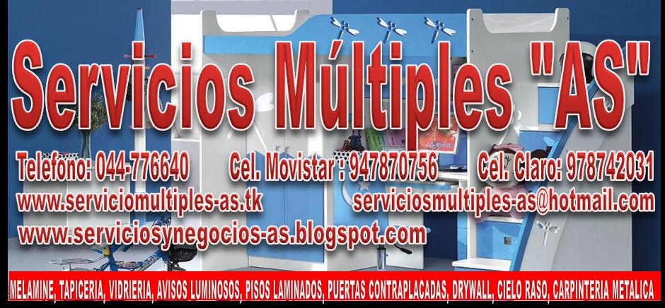"""SERVICIOS MÚLTIPLES """"AS"""""""
