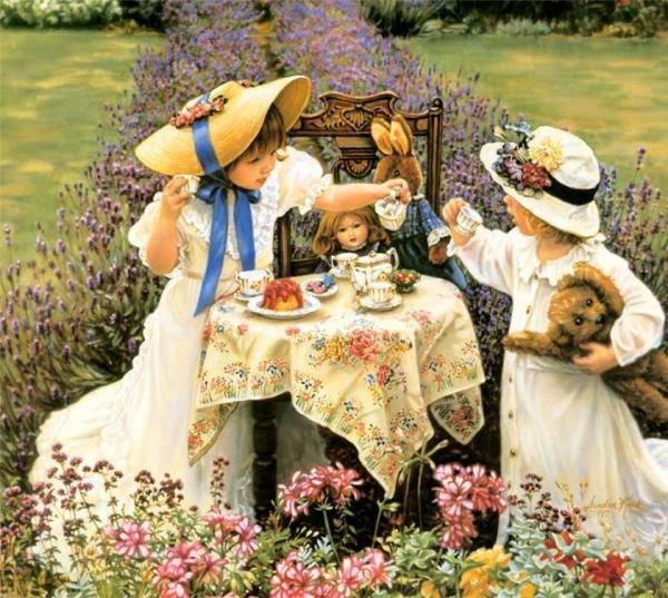 Beautiful Children Paintings by Sandra Kuck - Fine Art and You