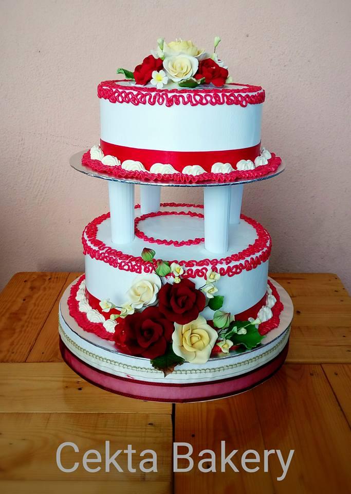 WEDDING CAKE (2 TIERS)