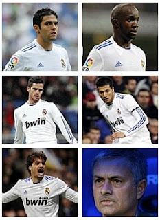 Real Madrid's players for sale in 2011