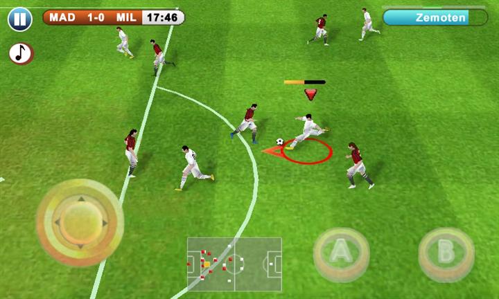 Gerçek Facebook Futbol Oyunu