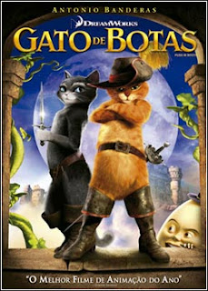 Download - Gato de Botas DVDRip - AVI - Dual Áudio