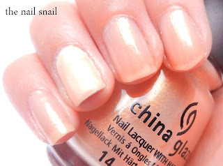 China Glaze Golden Meringue