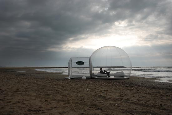 Fans Of The Space Age Living Environments Of Loganu0027s Run (1967) Will Love  This Futuristic Living Habitat. Cristal Bubble Is The Ultimate Inflatable  Space ...