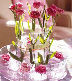 Centros de mesa con flores para el comedor de diario kitchen design luxury homes - Centros de mesa de comedor originales ...