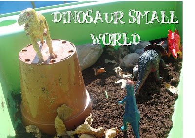 dinosaur small world