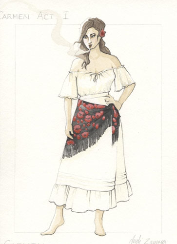 the opera carmen and gender roles