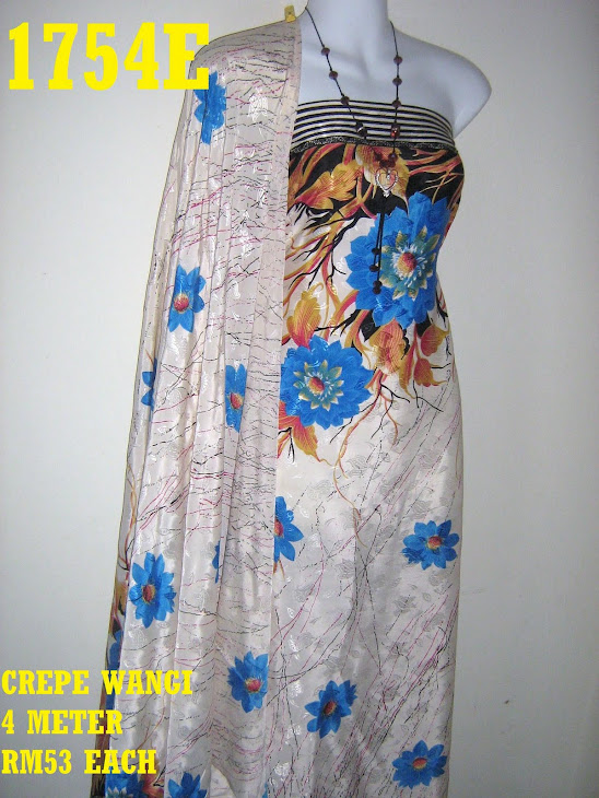 CW 1754E: CREPE WANGI, 4 METER