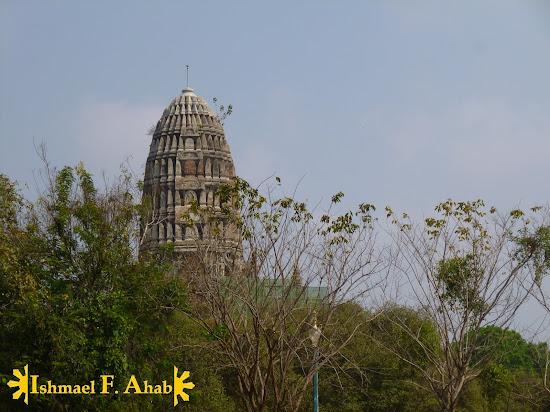 Wat Ratchaburana in Ayutthaya Historical Park, Thailand