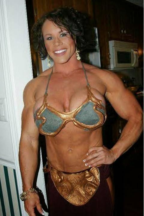 IFBB Pro Aleesha Young - Female Bodybuilding Star