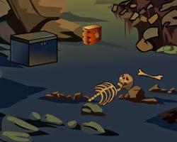 Juegos de Escape Horror Cave Escape