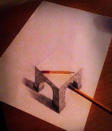 Contoh Lukisan 3d Mengunakan Pensil Belajar Bersama Jesica