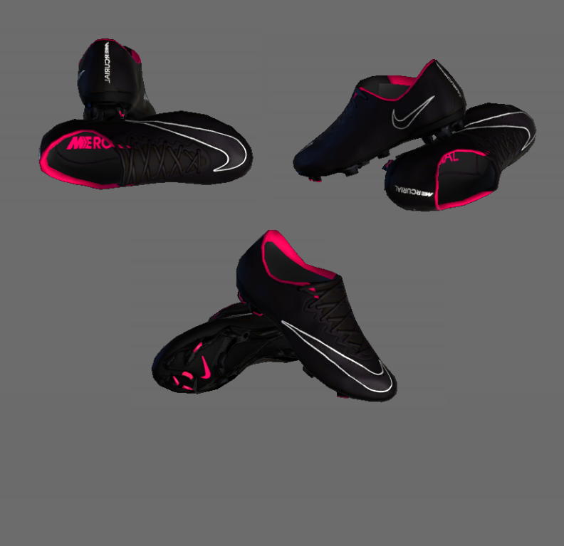 PES 2013 Mercurial Vapor X Black Out Boot by HendriSimZ