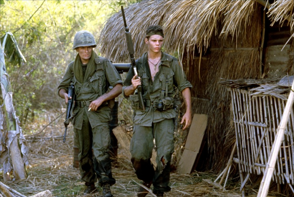 a review of platoon Editorial reviews whatever one thinks about oliver stone as a filmmaker,  activist, or human being, there is no denying the brilliance of this, his finest film.