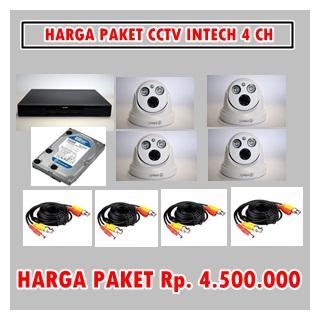 HARGA PAKET CCTV INTECH