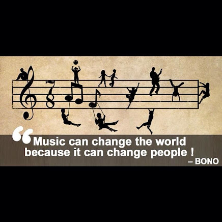 I LOVE MUSIC --and it can change the world!