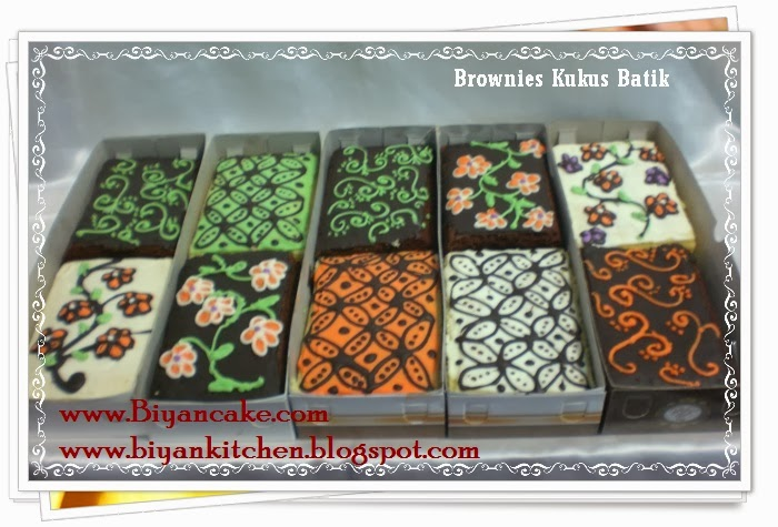 Brownies batik