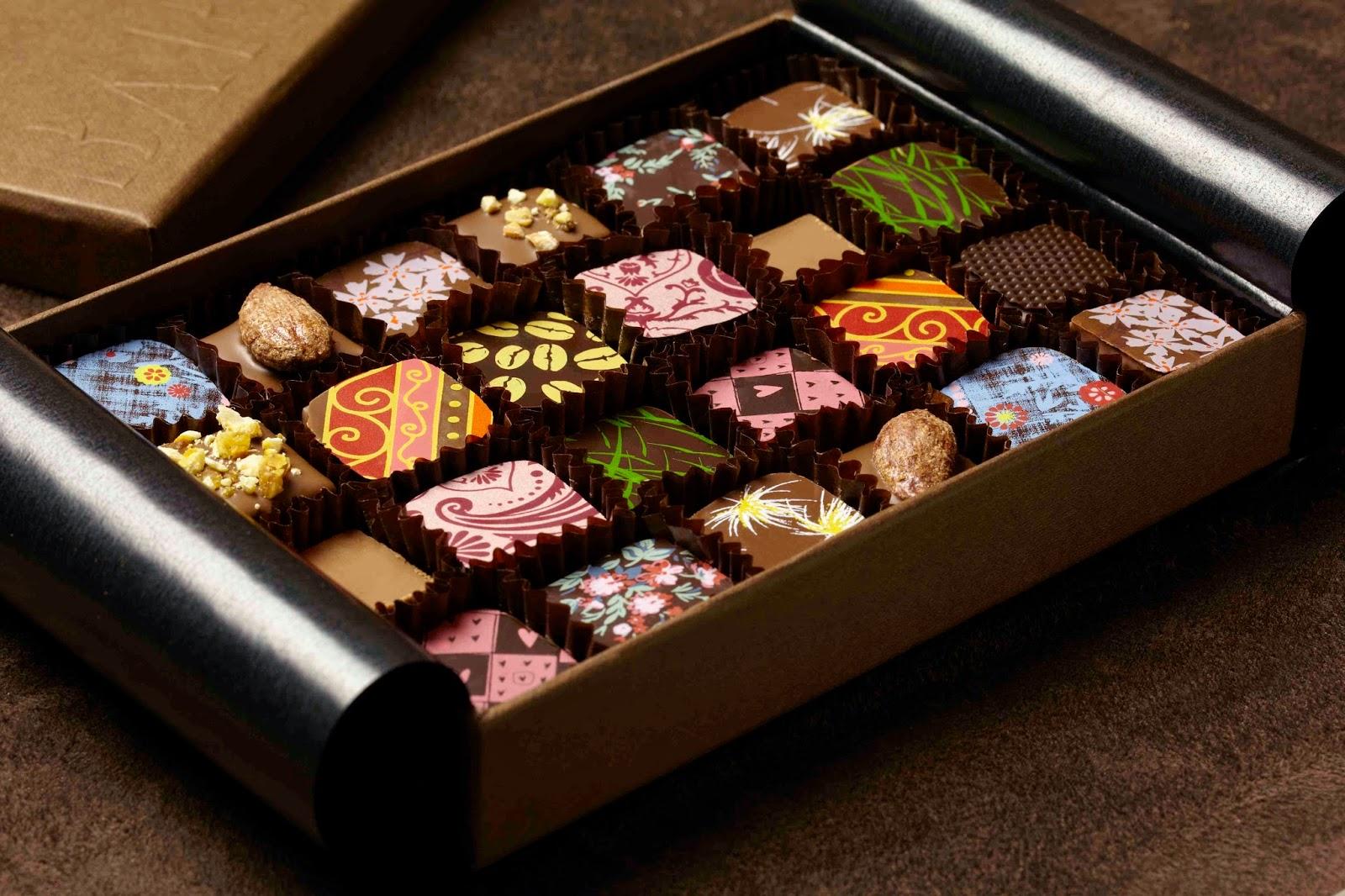 how to make customised chocolates