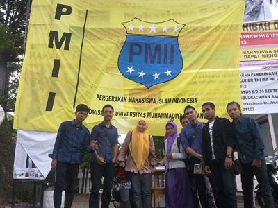 eksistensi PMII di kampus Muhammadiyah