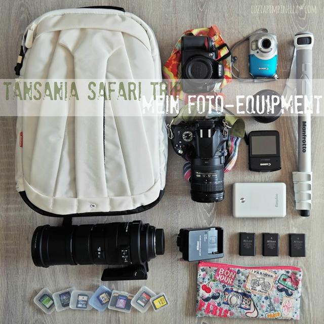 luzia pimpinella | travel tansania | safari-vorbereitungen: foto-equipment