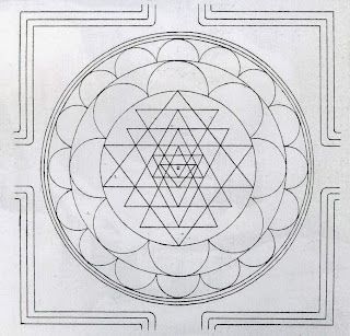 interesting article about How to Draw the Sri Chakra Yantra Maha Meru
