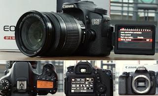 Jual Canon Eos 70D Wifi + TouchScreen 2nd