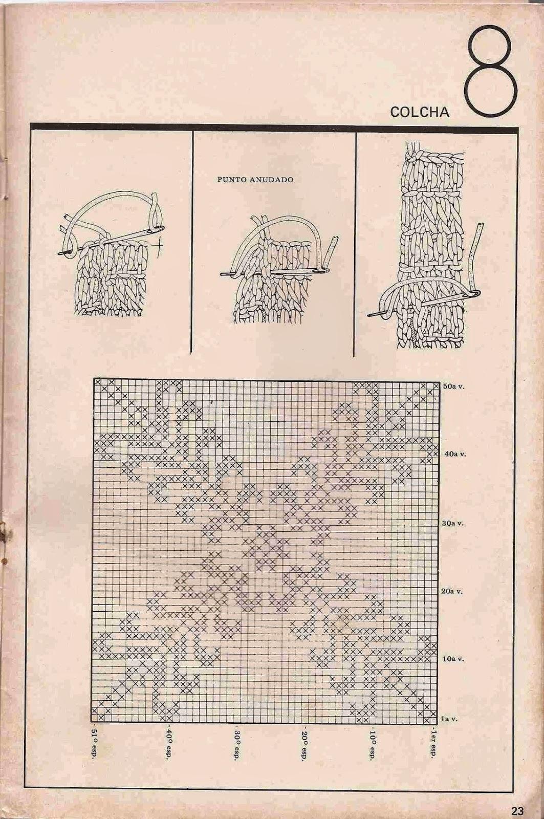 #29 Colcha a Crochet