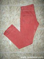 Quần jean màu đỏ hiệu Grape Jeans