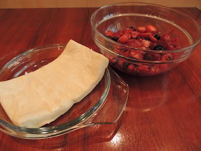 Ingrediente Tarta fructe de padure