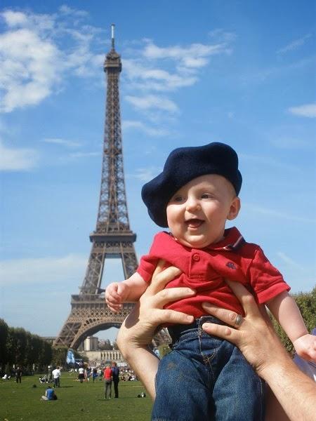 Photo bébé en paris