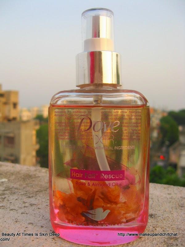 Dove Hair Elixir Hair Fall rescue review