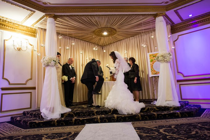 Glam Black Tie Jewish Wedding
