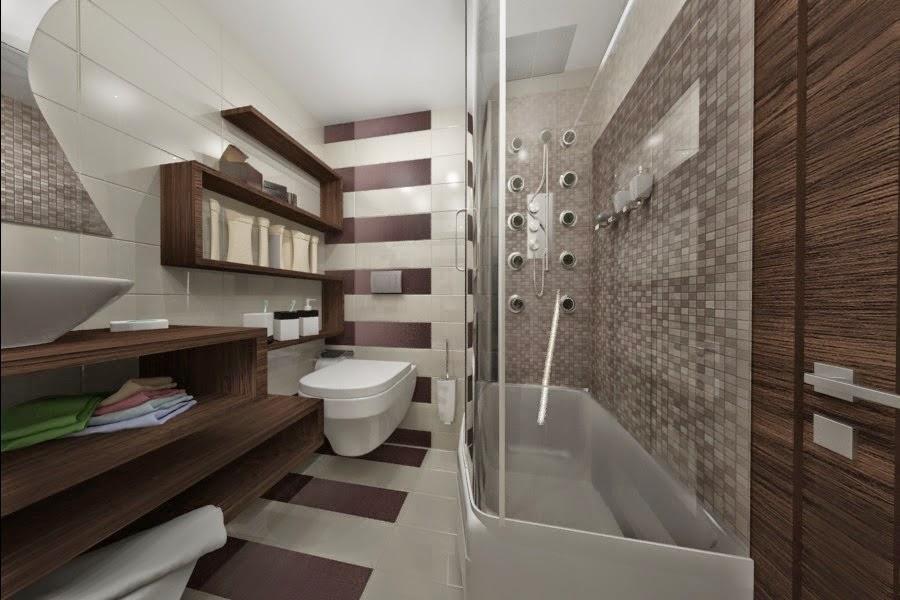 design interior baie apartament