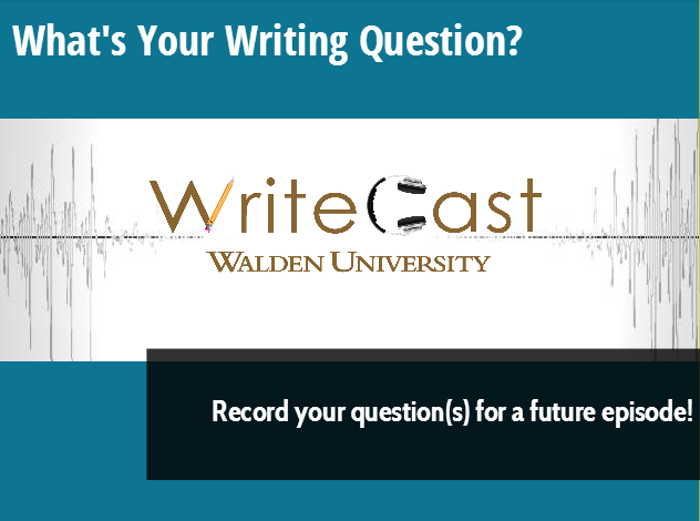 Submit your question to be answered on WriteCast