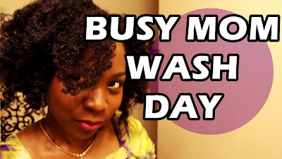 Natural Hair Wash Day Routine for Busy Mom DiscoveringNatural