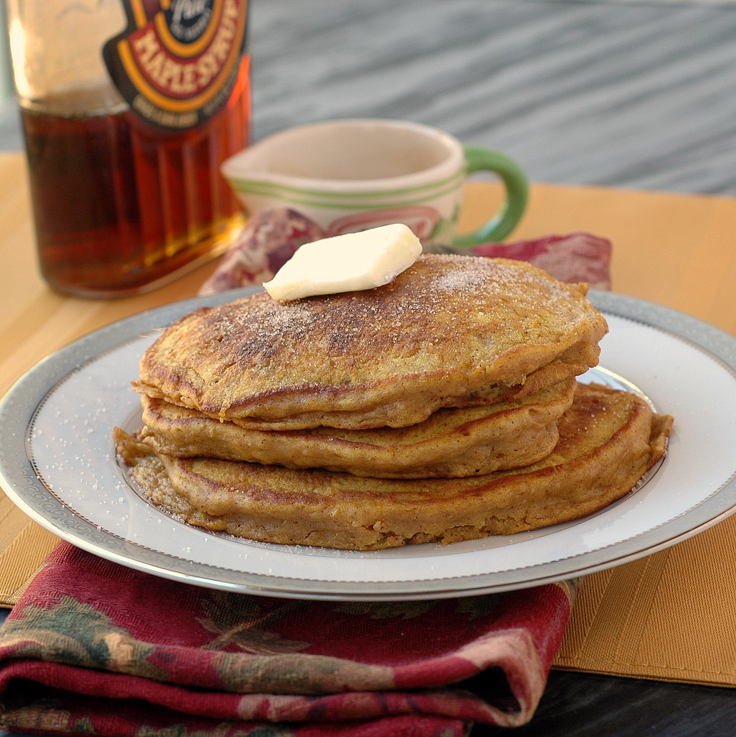 Good Thymes and Good Food: Pumpkin Spice Pancakes