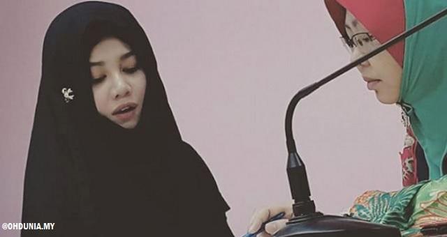 Stacy memeluk Islam dengan nama Ummu Syaikhah Stacy Abdullah